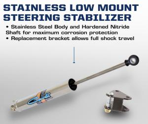 Carli 2014+ Ram Stainless High Mount Steering Stabilizer (CS-DHMSS-14)