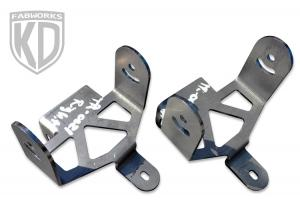 KD Fabworks 05-07 F250/350 Rigid Dually XL Brackets (TR-0021)