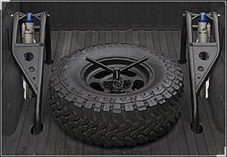 Tiregate Bed Mount Tire Carrier