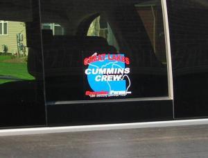 GLCC Great Lakes Cummins Crew 6x6 Decal