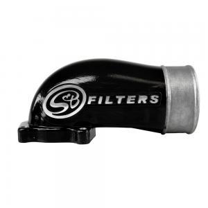 S&B 2003-04 Ford Powerstroke 6.0L Black Intake Elbow (76-1003B)