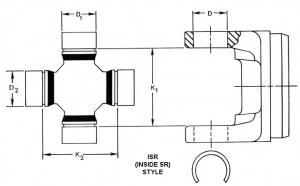 Spicer 5006813 U Joint
