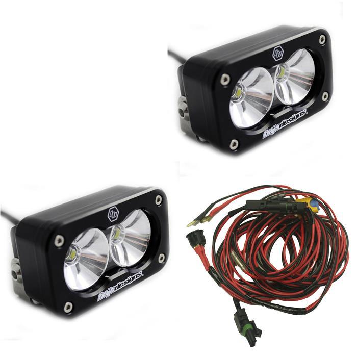 14296 baja designs s2 pro pair led lights