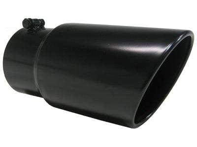 MBRP 6 inch Black Dual Wall Angled Tip 5 inch inlet