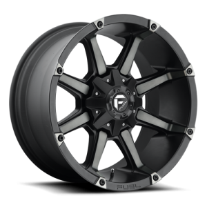 Fuel Wheels Coupler Black & Machined with Dark Tint (D556)