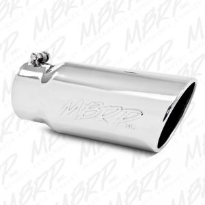 MBRP 5 inch Angled Tip Rolled End 4 inch inlet (T5051)