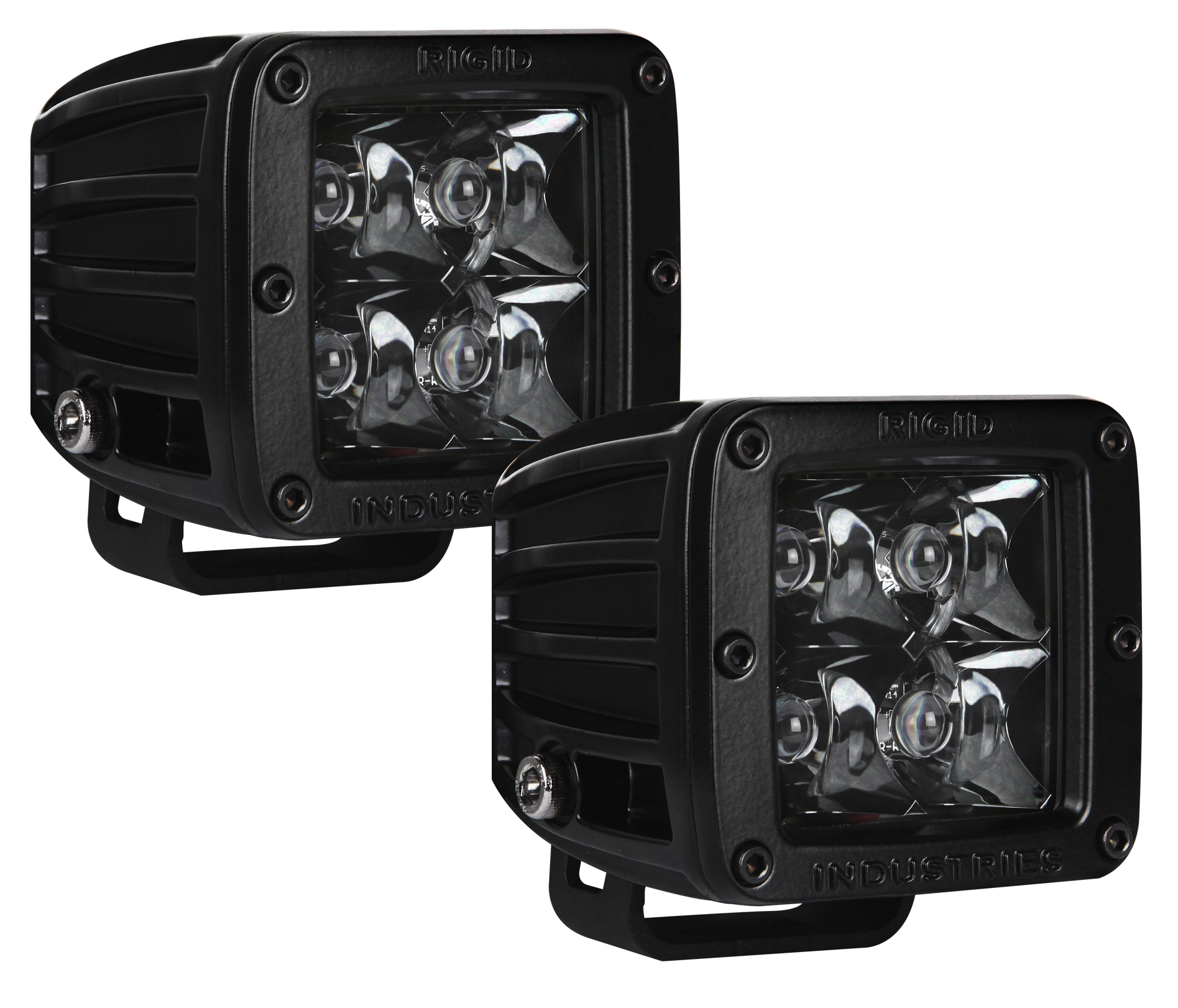 Rigid Industries Dually LED Light Pair Midnight Edition