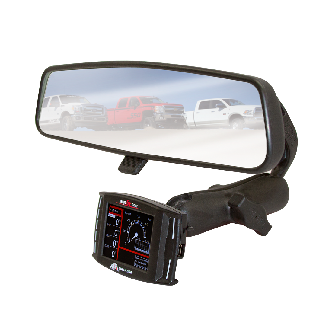 08-12 Edge Performance Custom Dash Pod Mount For Ford Superduty Truck 6.4 6.7