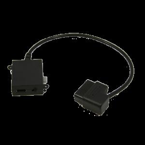 Bully Dog OBDII Power Block Adapter for Bullydog GT Tuner (40400-105)