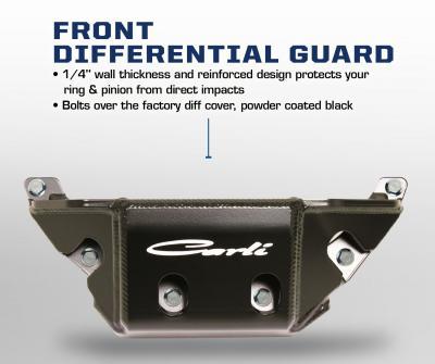 Carli Dodge 2014+ Front Diff Guard (CS-DFDG-14)