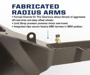 Carli Ford Fabricated Radius Arms (CS-FFRA)