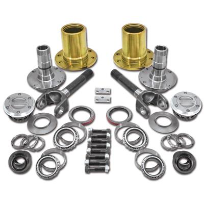 Spin Free Locking Hub Conversion Kit for 12-15 Dodge 2500/3500, DRW (YA WU-14)