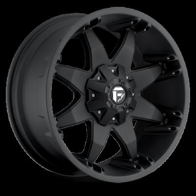 Fuel Wheels Octane Matte Black (D509)