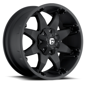 Fuel Wheels Octane Matte Black (D509)