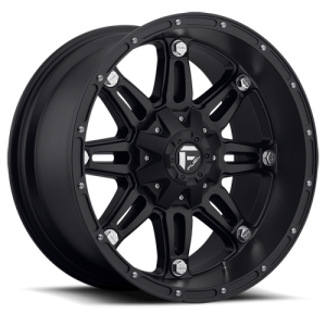 Fuel Wheels Hostage Matte Black (D531)