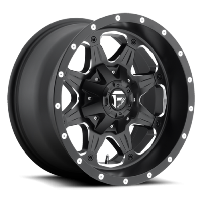 Fuel Wheels Boost Matte Black (D534)