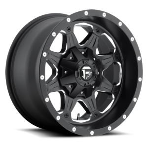 Fuel Wheels Boost Matte Black (D534)