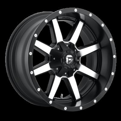 Fuel Wheels Maverick Black & Machined (D537)