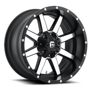 Fuel Wheels Maverick Black & Machined (D537)