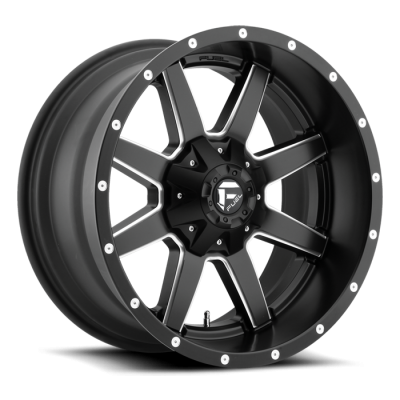Fuel Wheels Maverick Black & Milled (D538)