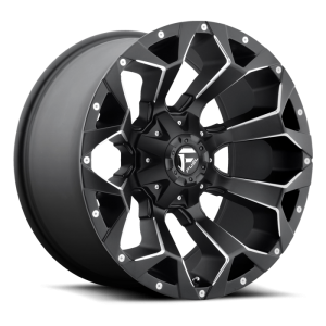 Fuel Wheels Assault Black & Milled (D546)