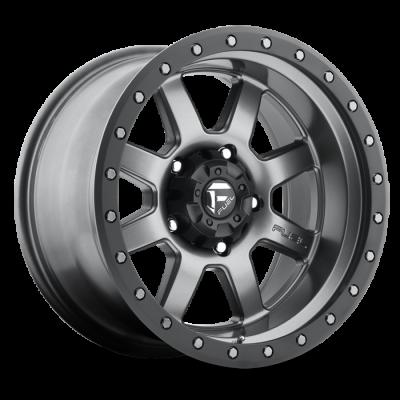 Fuel Wheels Trophy Matte Anthracite w/ Black Ring (D552)