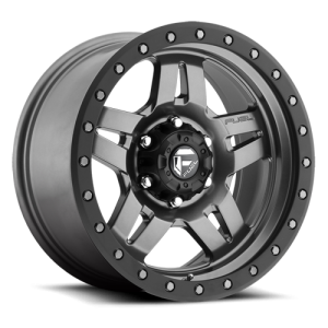Fuel Wheels ANZA Matte Anthracite w/ Black Ring (D558)