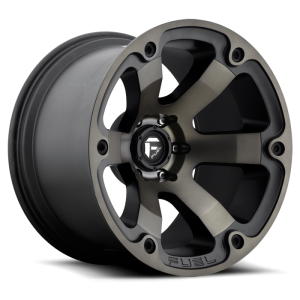 Fuel Wheels Beast Black & Machined with Dark Tint (D564)