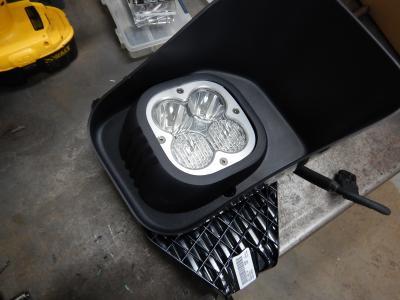 KD Fabworks 11-16 F250/350 BAJA DESIGNS XL adapters (TR-0023)