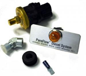 Airdog 5 PSI Low Fuel Pressure Indicator Warning Light