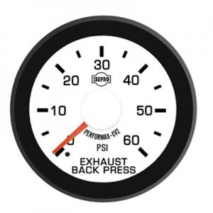 ISSPRO EV2 0-60psi Exhaust Back Pressure Gauge