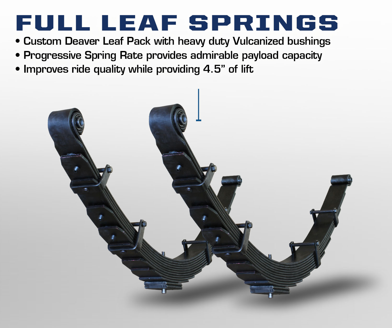 Deaver Leaf Springs >> Carli Ford Excursion Full Leaf Springs