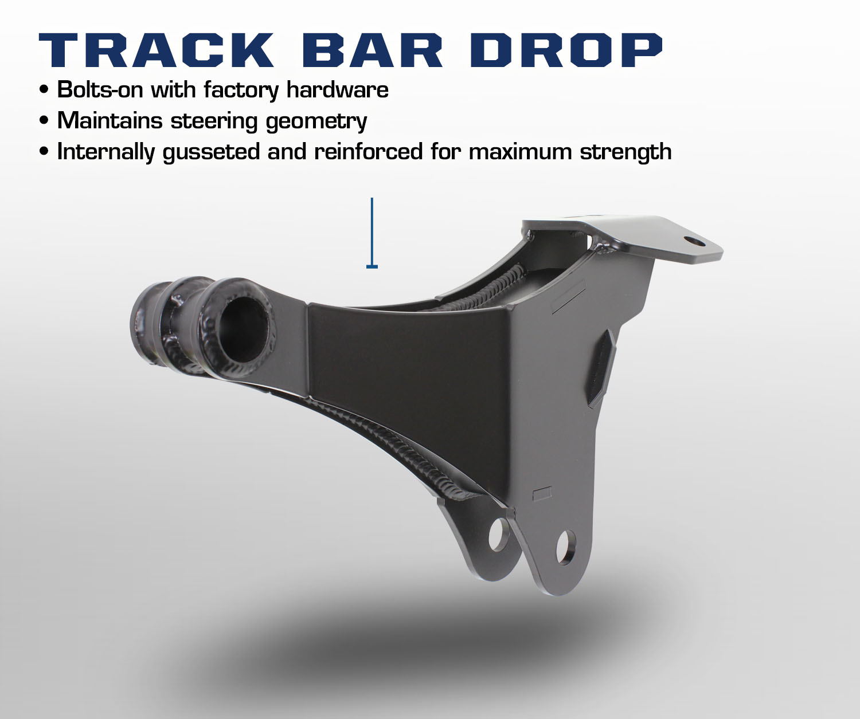 Carli Ford Excursion Track Bar Drop Bracket