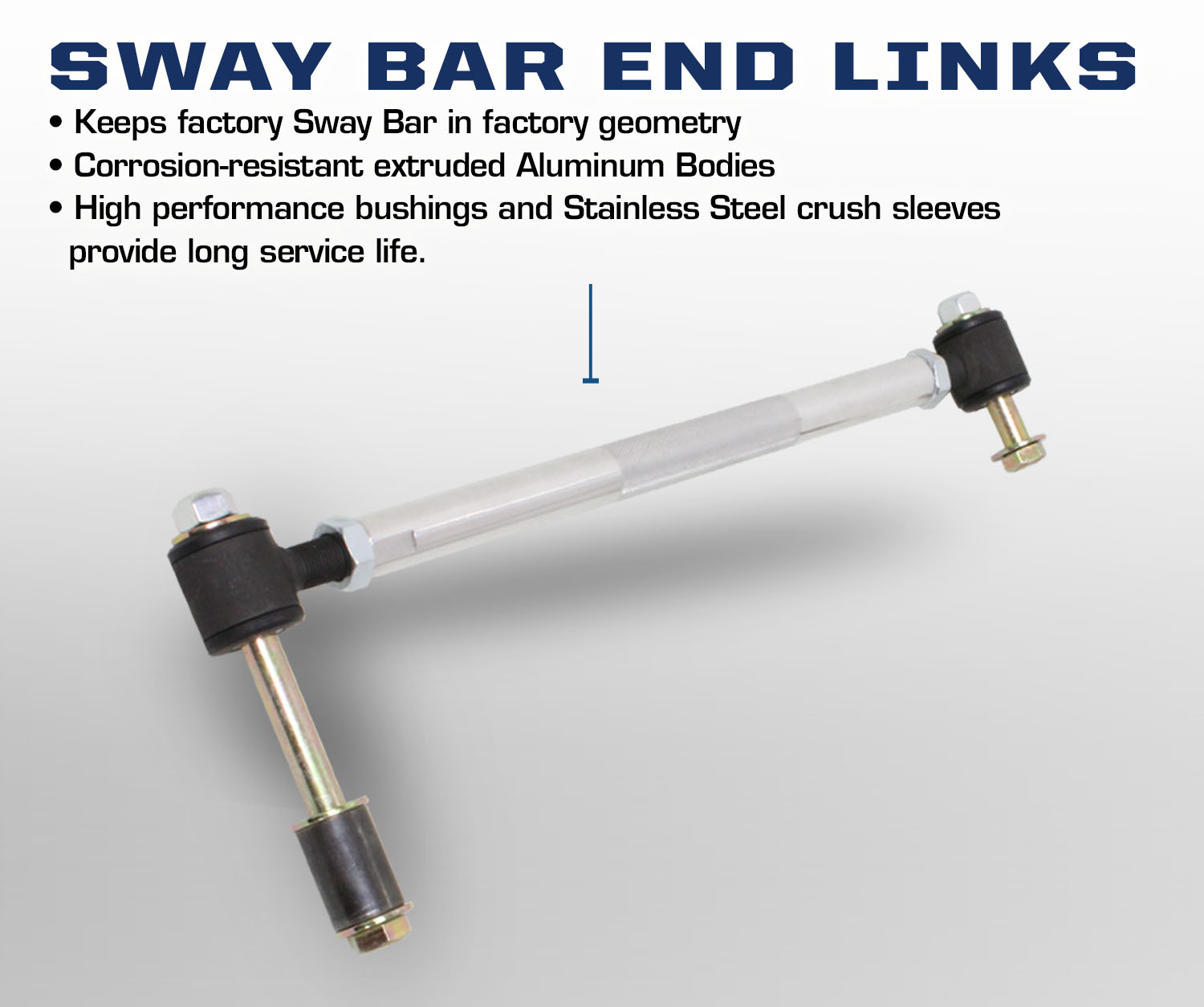Carli Ford Excursion Sway Bar End Links
