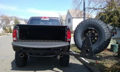 Wilco Offroad Hitchgate™ Spare Tire Carrier