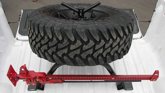 Wilco Offroad Bed Mount Tire Carrier