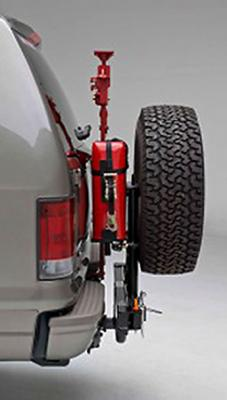Wilco Offroad Hitchgate Hi-Lift jack and jerry can mounting kit (HLG25663)