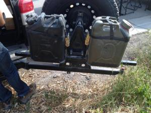 Wilco Offroad Hitchgate™ Jerry Can Mounting Kit (HLG25663)