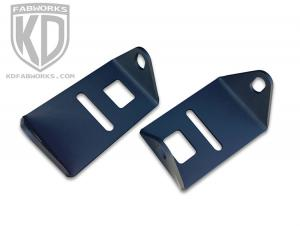 KD Fabworks 2017 F250/350 Pod Light Adapter Bracket for Rigid Dually (TR-F150-03)