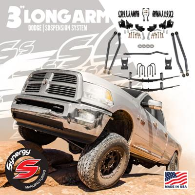 Synergy 03-12 Dodge 3 Long Arm Suspension System