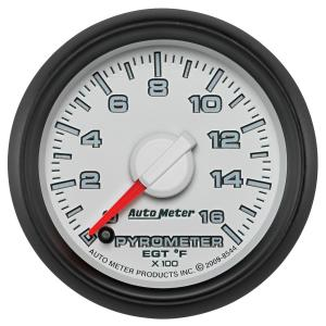 Autometer 2-1/16 Pyrometer, 0-1600 °F, Gen 3 Dodge Factory Match (AUT8544)
