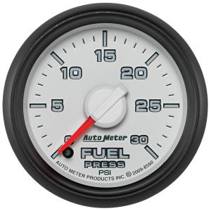 Autometer 2-1/16 Fuel Pressure, 0-30 PSI, Gen 3 Dodge Factory Match (AUT8560)