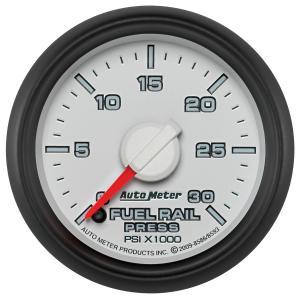 Autometer 2-1/16 Fuel Rail Pressure, 0-30K PSI, Gen 3 Dodge Factory Match (AUT8586)