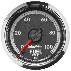 Autometer 2-1/16 Fuel Pressure, 0-100 PSI, Gen 4 Dodge Factory Match (AUT8564)