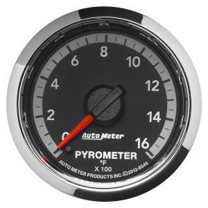 Autometer 2-1/16 Pyrometer, 0-1600 °F, Gen 4 Dodge Factory Match (AUT8546)