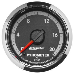 Autometer 2-1/16 Pyrometer, 0-2000 °F, Gen 4 Dodge Factory Match (AUT8547)