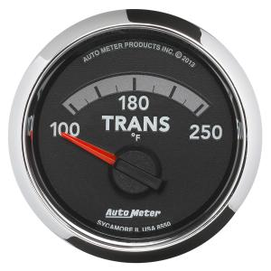 Autometer 2-1/16 Transmission Temp, 100-250 °F, Gen 4 Dodge Factory Match (AUT8550)
