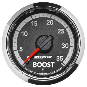 Autometer 2-1/16 Boost, 0-35 PSI, Gen 4 Dodge Factory Match (AUT8507)