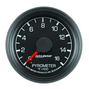 Autometer 2-1/16 Pyrometer, 0-1600°F Ford Factory Match (AUT8444)