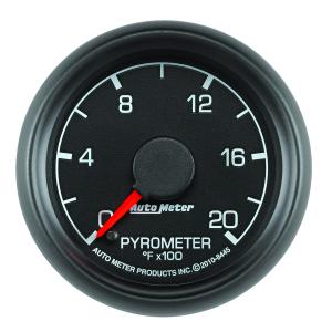 Autometer 2-1/16 Pyrometer, 0-2000°F Ford Factory Match (AUT8445)